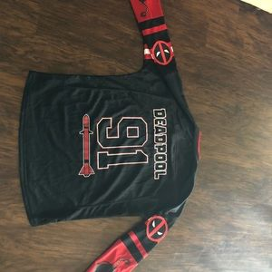 Marvel Shirts - Deadpool Hockey 🏒 Jersey